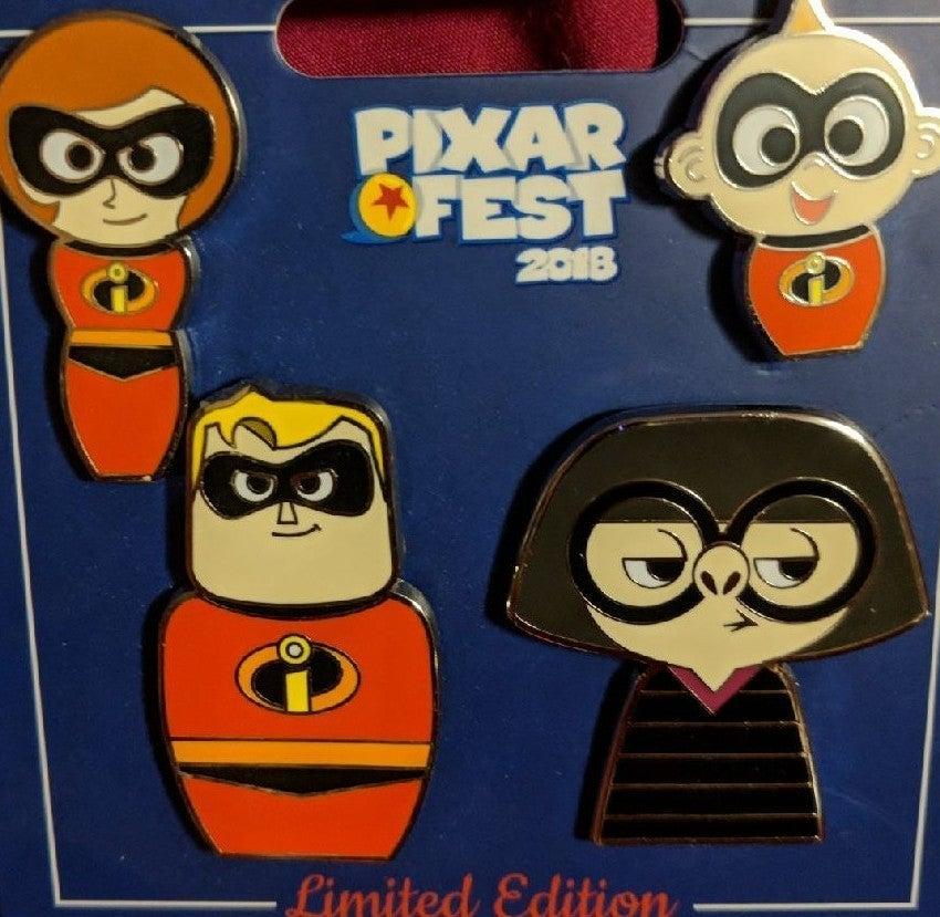 Disney Pin Pixar Fest 2018 Incredibles