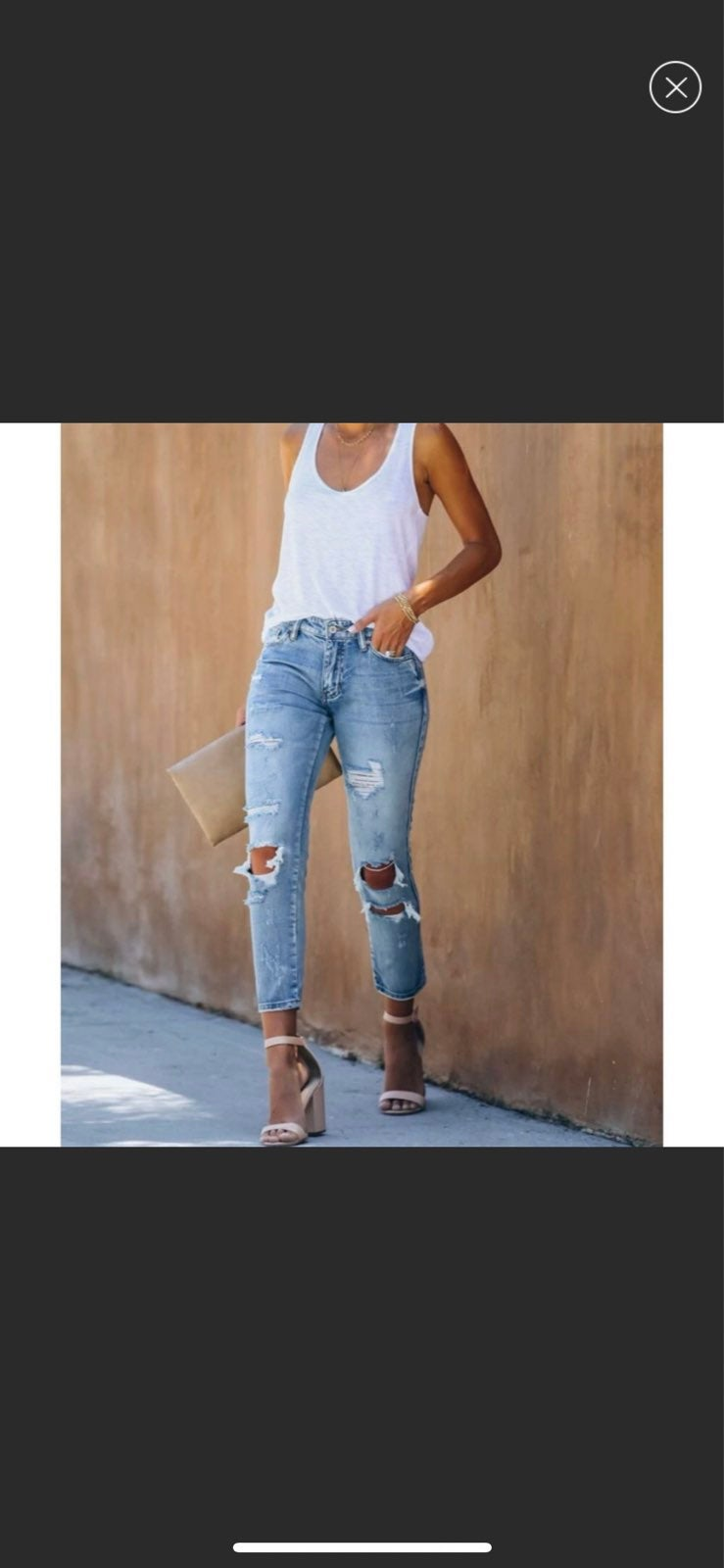 KanCan NWT Jeans Girlfriend Relaxed 9 28