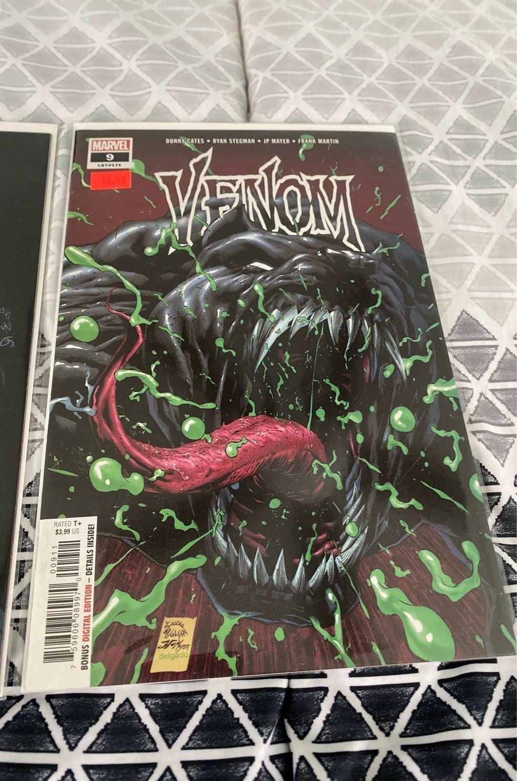 Venom 9 first full apperance of dylan