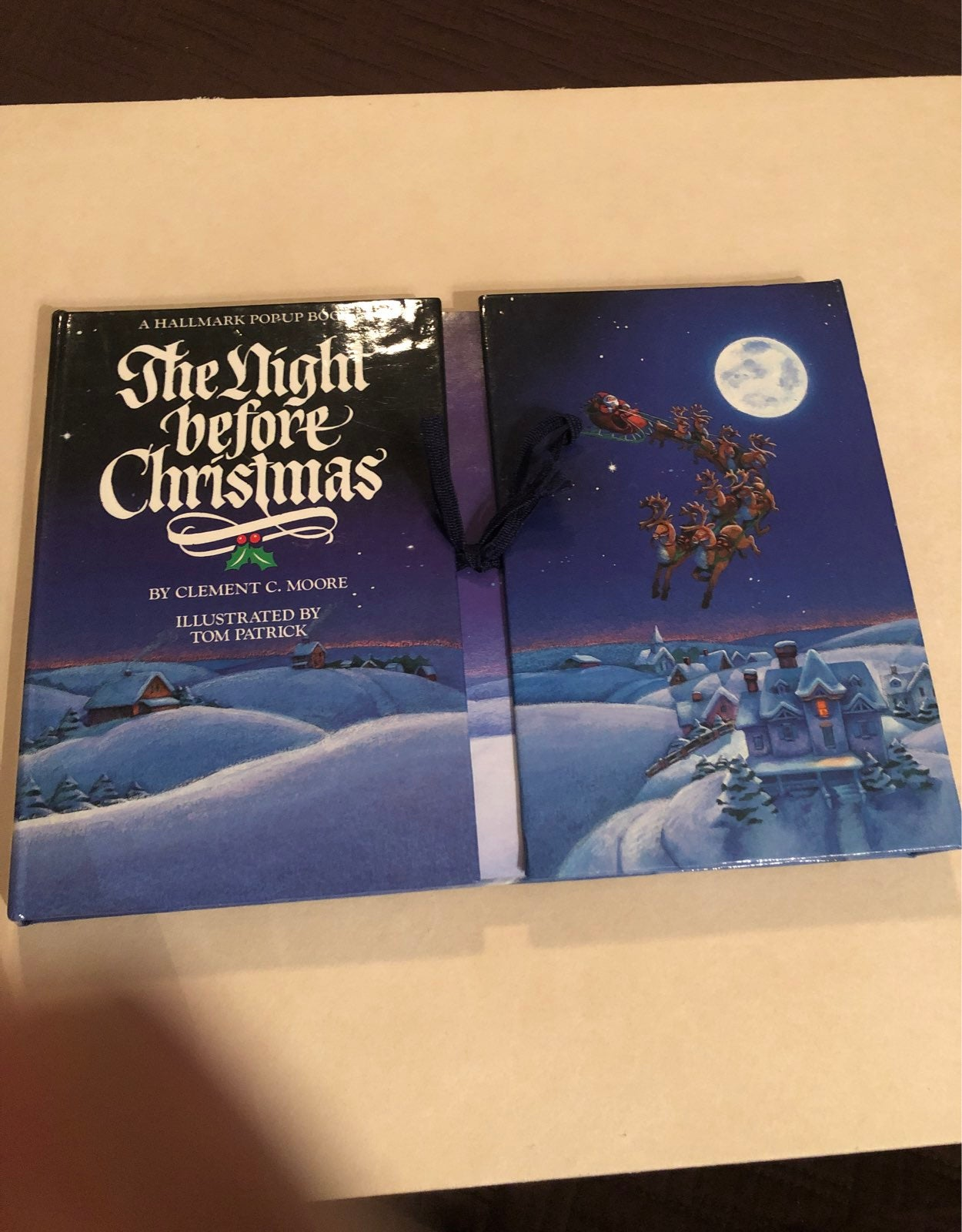 The Night Before Christmas Pop Up Book