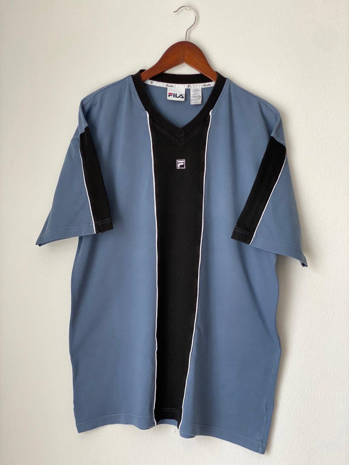 Vtg 90s Fila Shirt Sz M