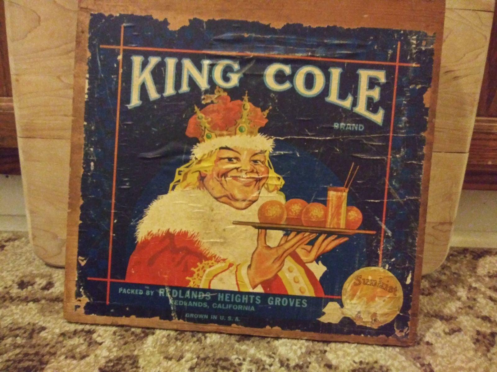 Vintage old king Cole plaque FINAL$