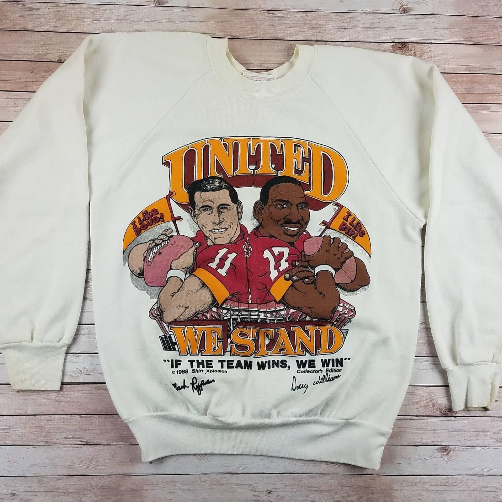VTG 1980s United We Stand WSH Sweatshirt