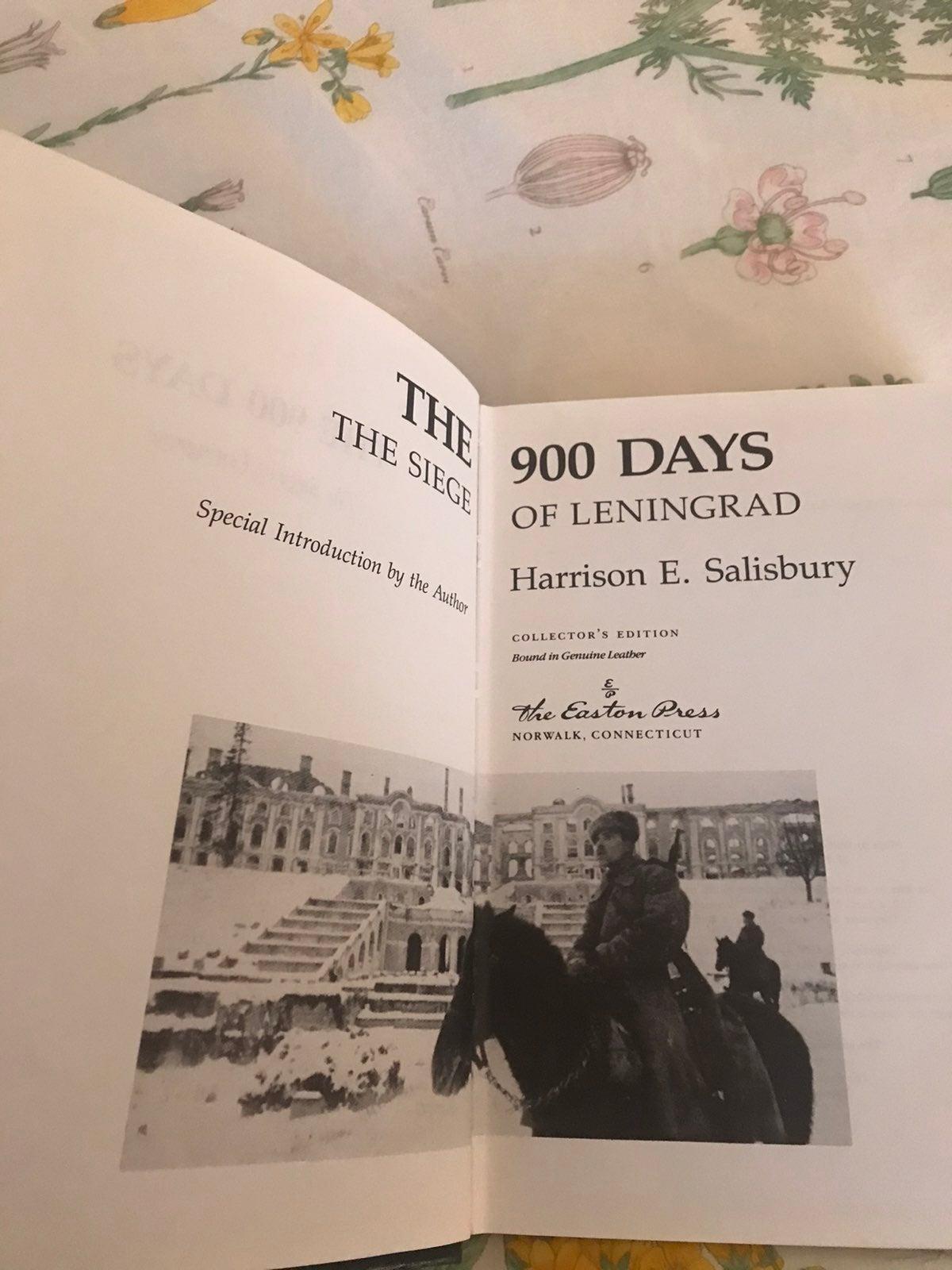 Easton Press The 900 Days Leningrad Book