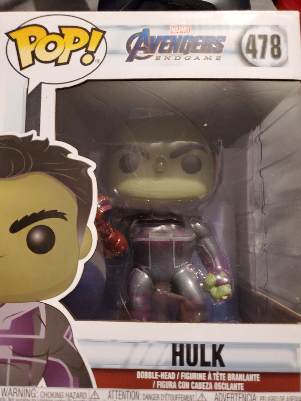 Funko Pop Hulk 478 Marvel