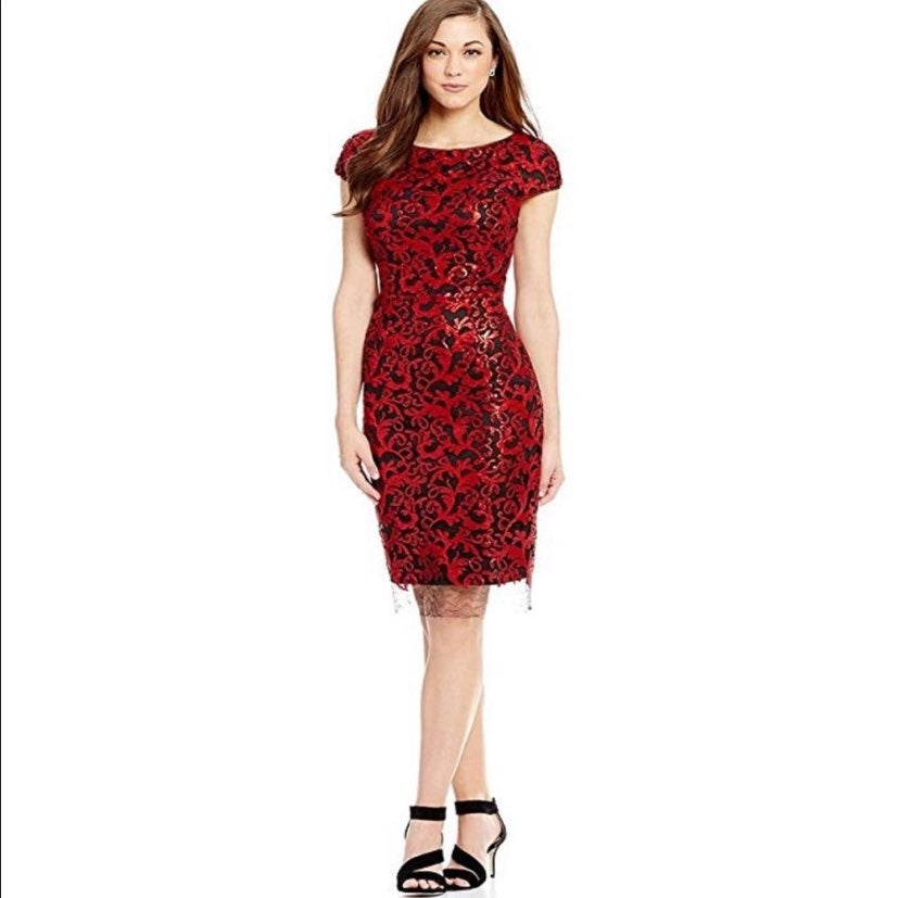 Antonio Melani Sequin Milo Dress
