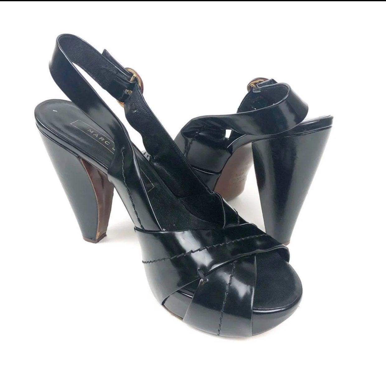 Marc Jacobs Sling Bag Sandal Size 40.5