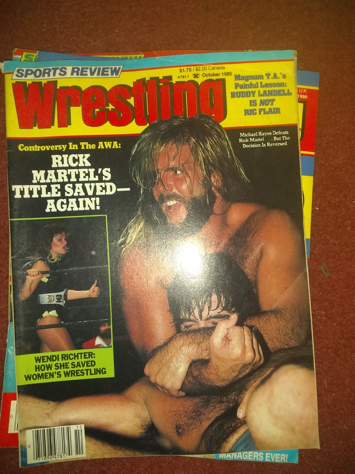 Oct 85 sports review Wrestling Magazine