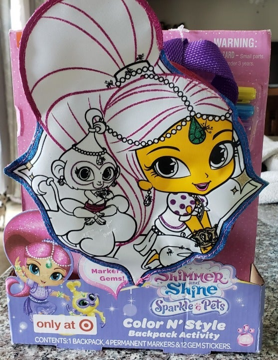 Sparkle Pets Color N' Style Backpack