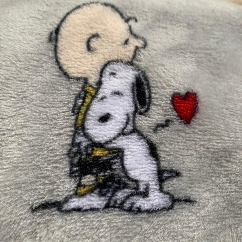 HTF Snoopy Valentine Blanket 90x90