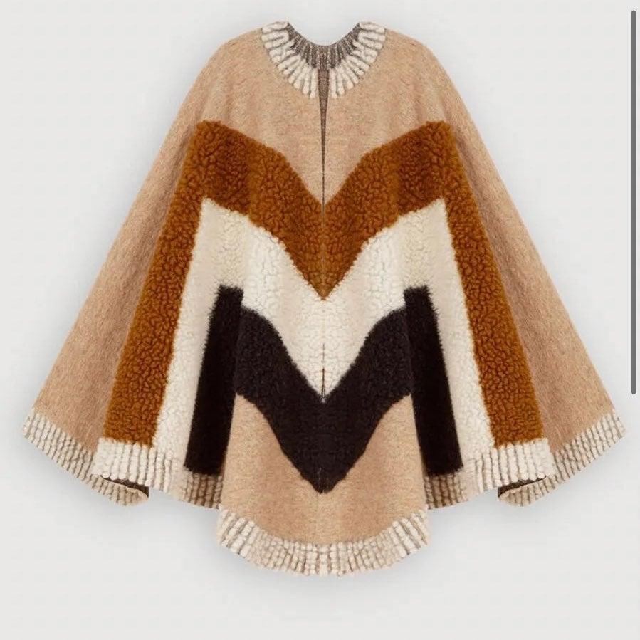 New $200 maje shawl poncho