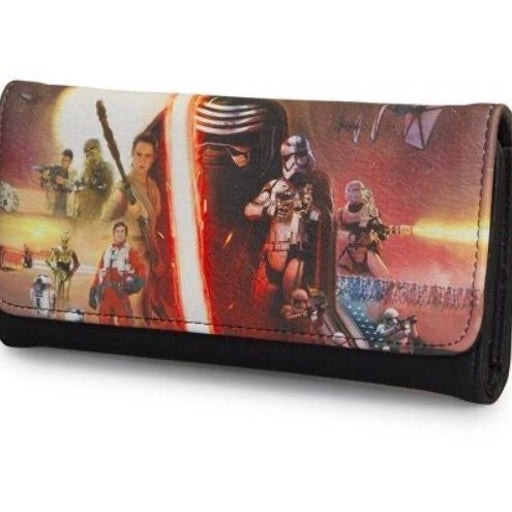 THE FORCE AWAKENS MOVIE POSTER WALLET
