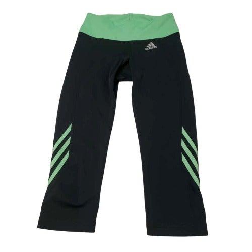 Adidas Womens Active Pants Black Green