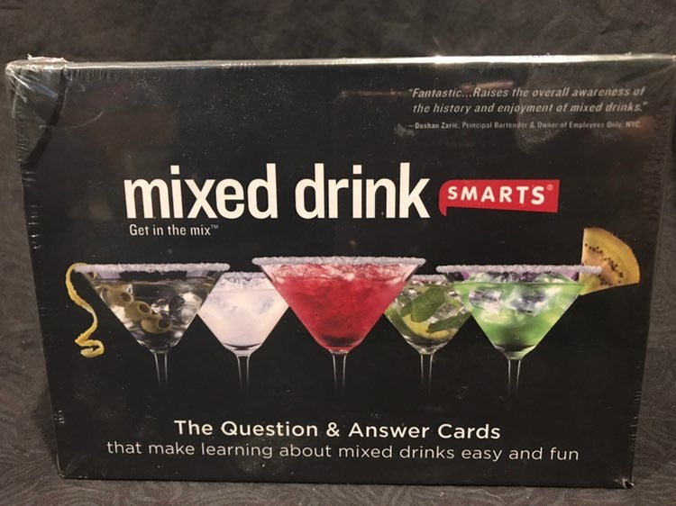 mixed drink smarts game