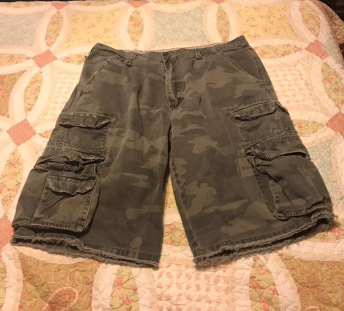 Mens Plugg Co Cargo Shorts