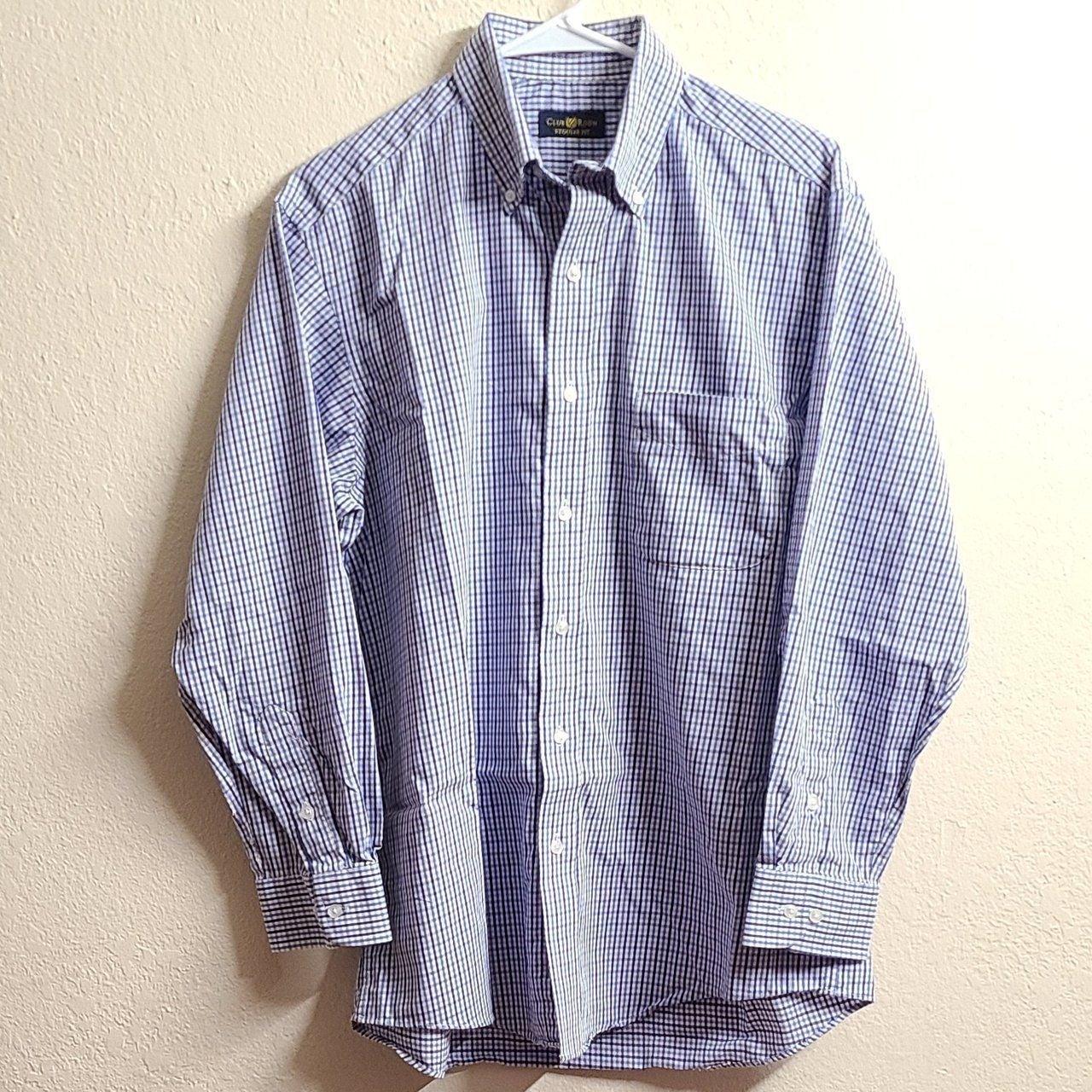 CLUB ROOM BUTTON DRESS SHIRT