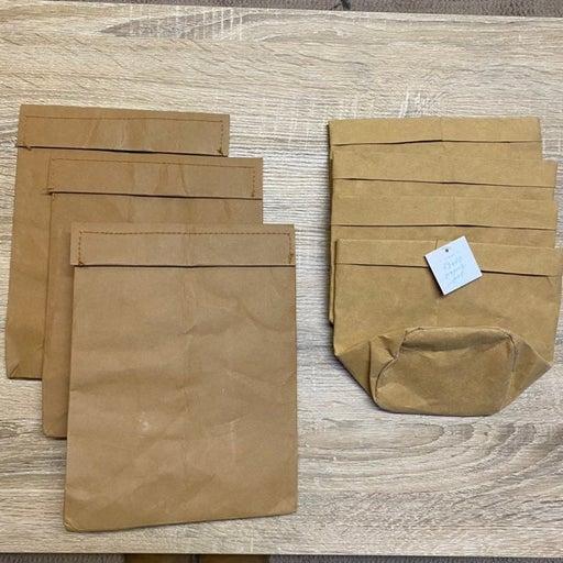 Bullseye Kraft Paper Bags & Pots