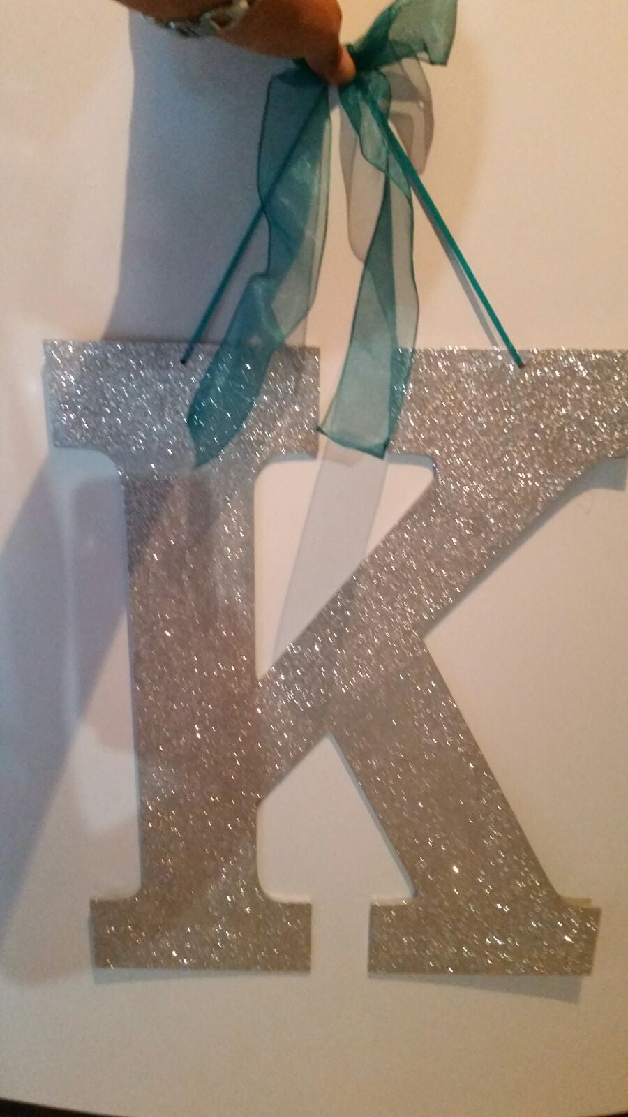 """ K "" Wedding enicials!"