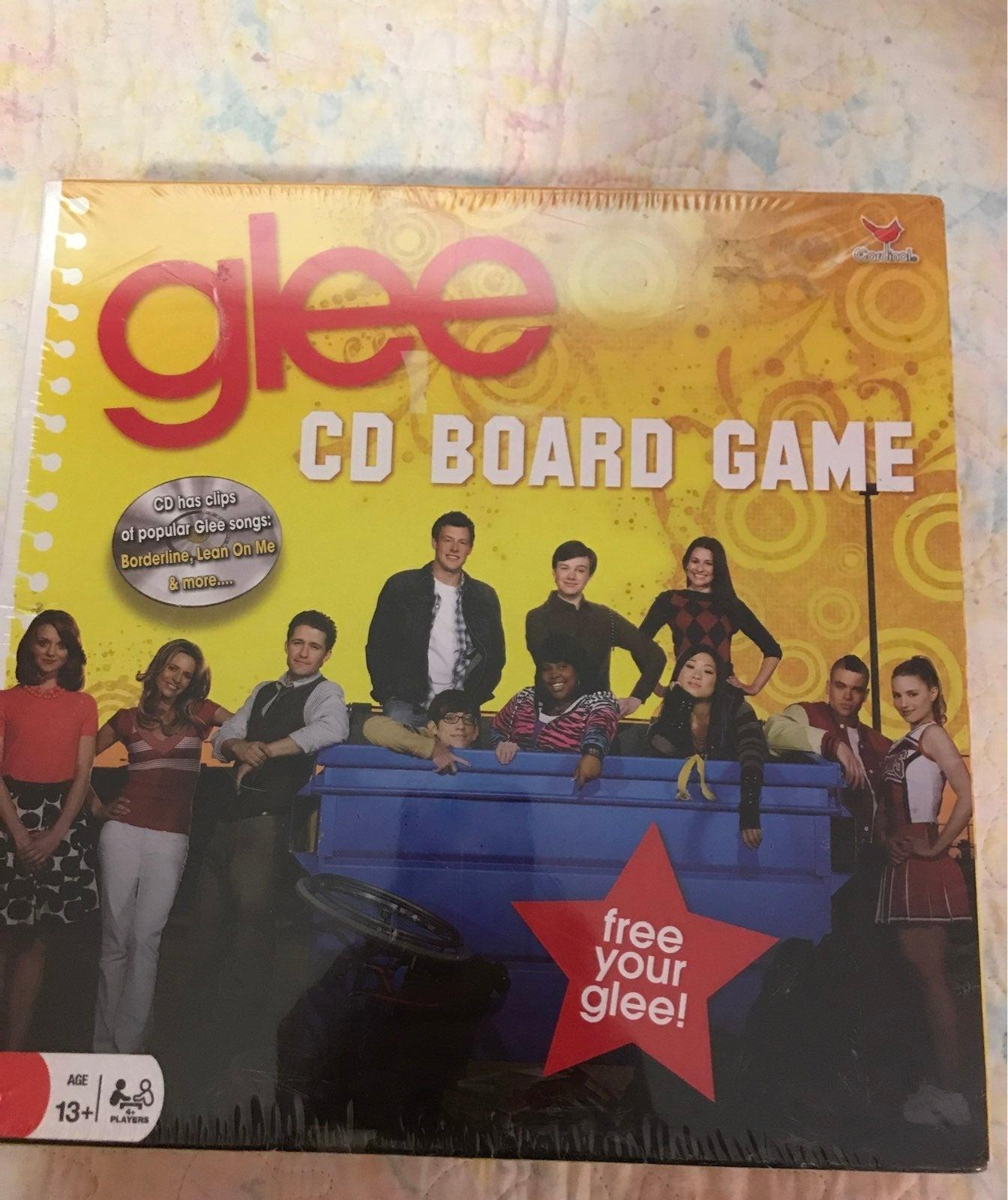 Glee CD Board Game