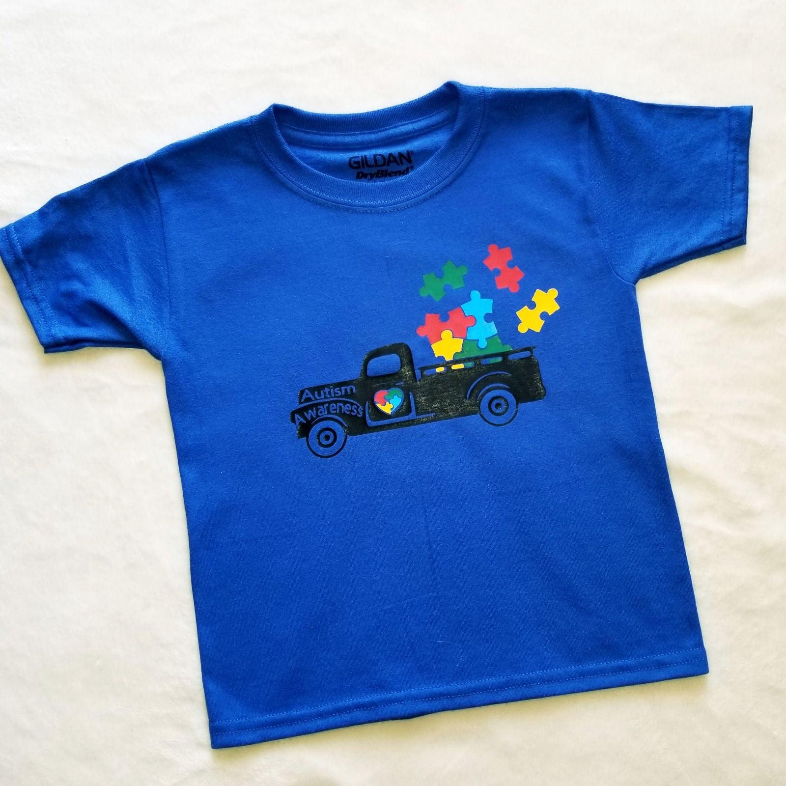 Autism Awareness Truck Shirt