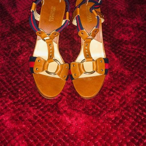 Michael Kors Womens High Heeled Sandals