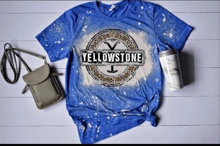 Yellow stone   shirt