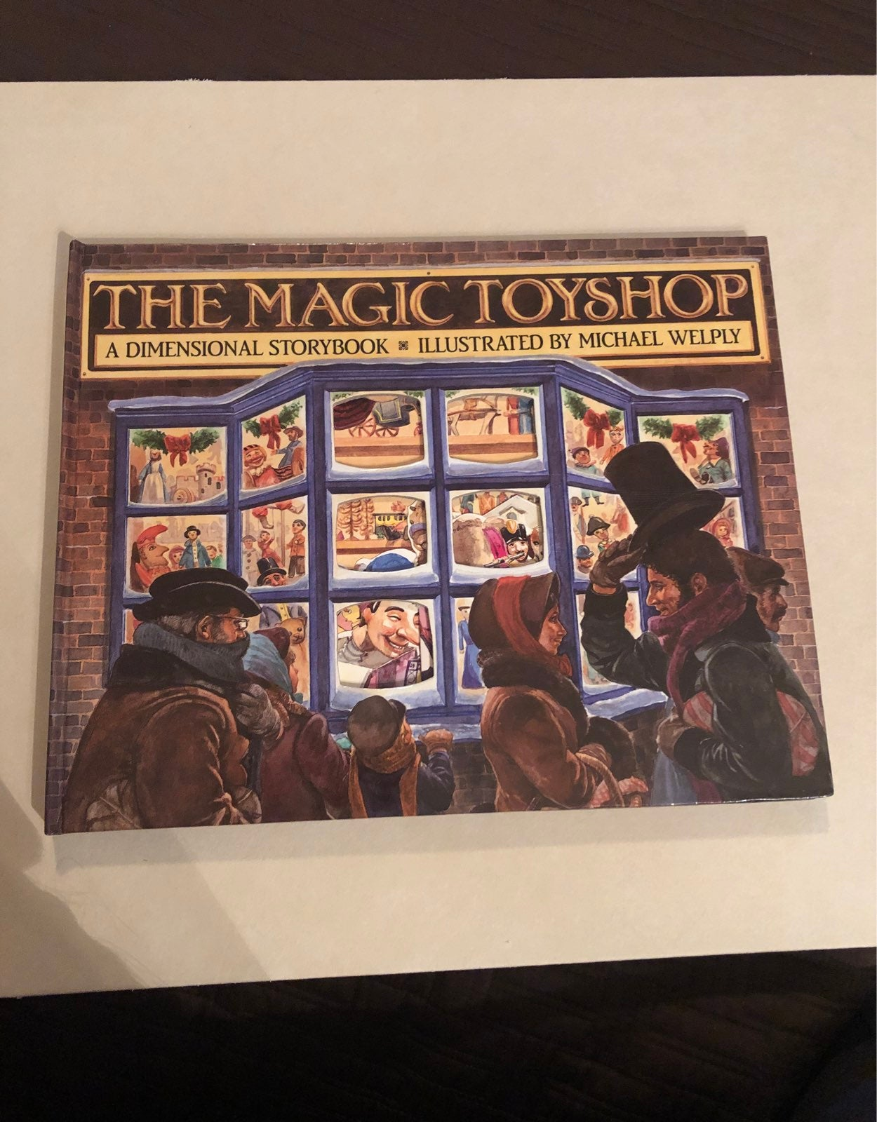 The Magic Toyshop pop up Book