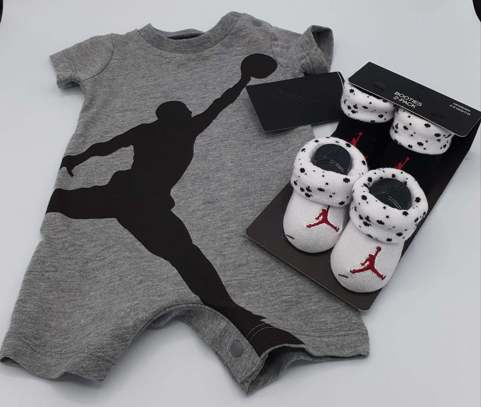 AIR JORDAN BABY ROMPER & BOOTIES NWT