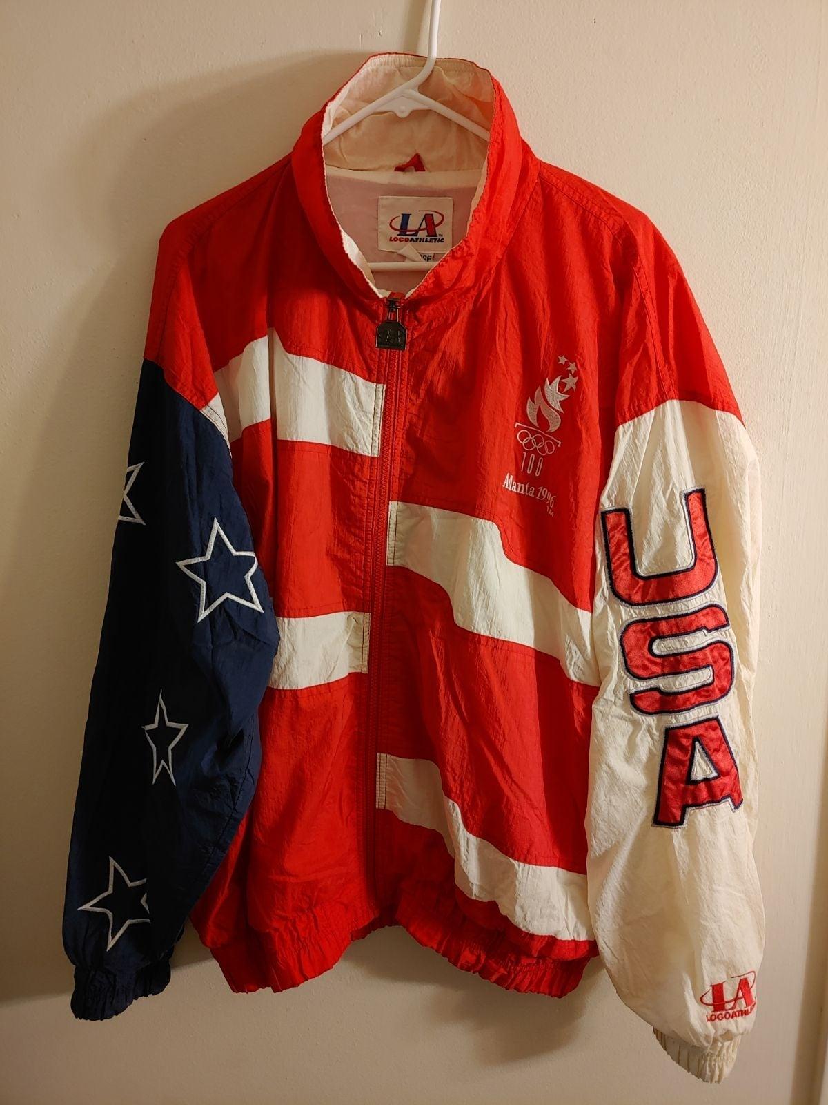 VTG 90s ATLANTA OLYMPICS USA Jacket XL