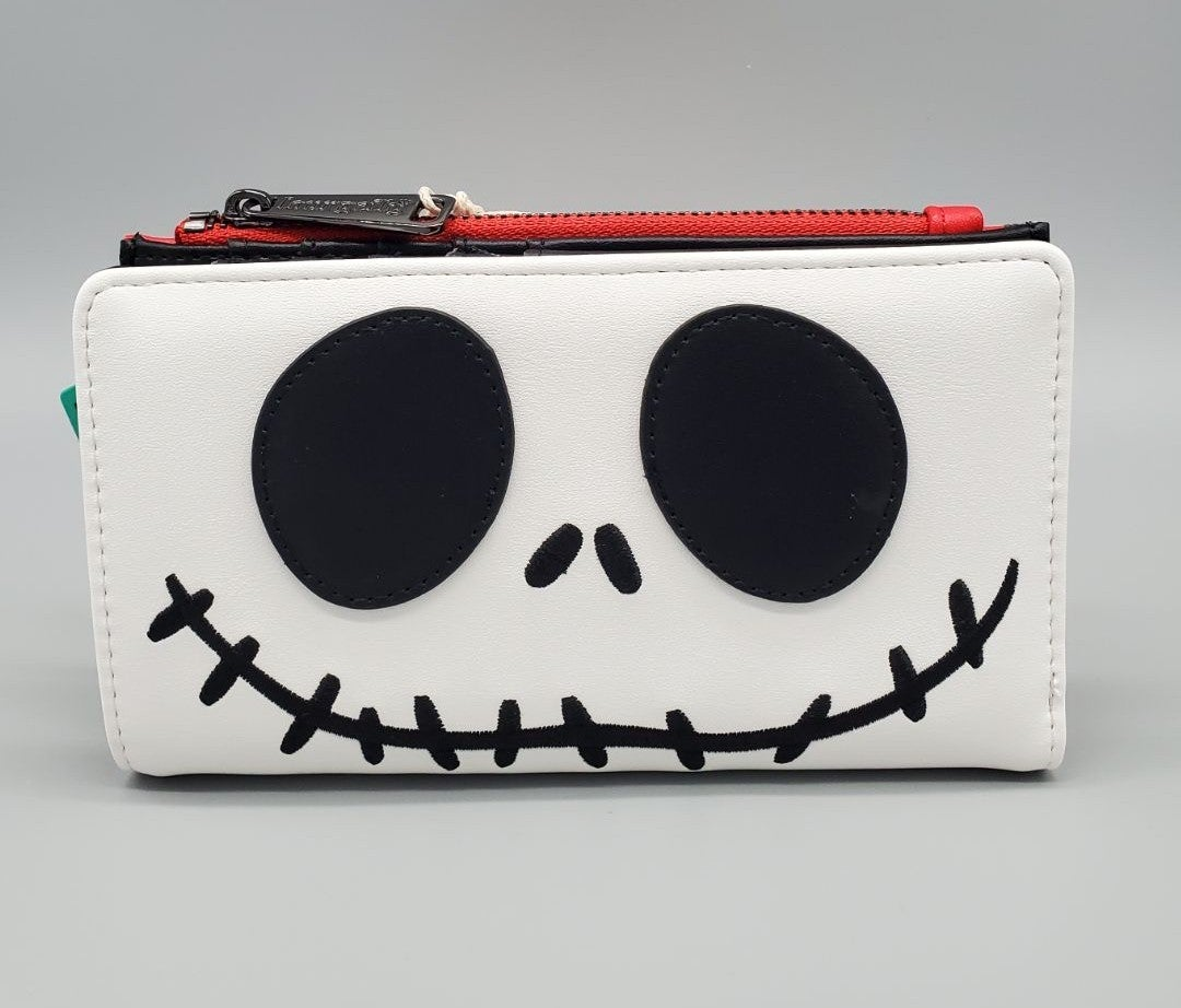 Loungefly Santa Jack Skellington wallet