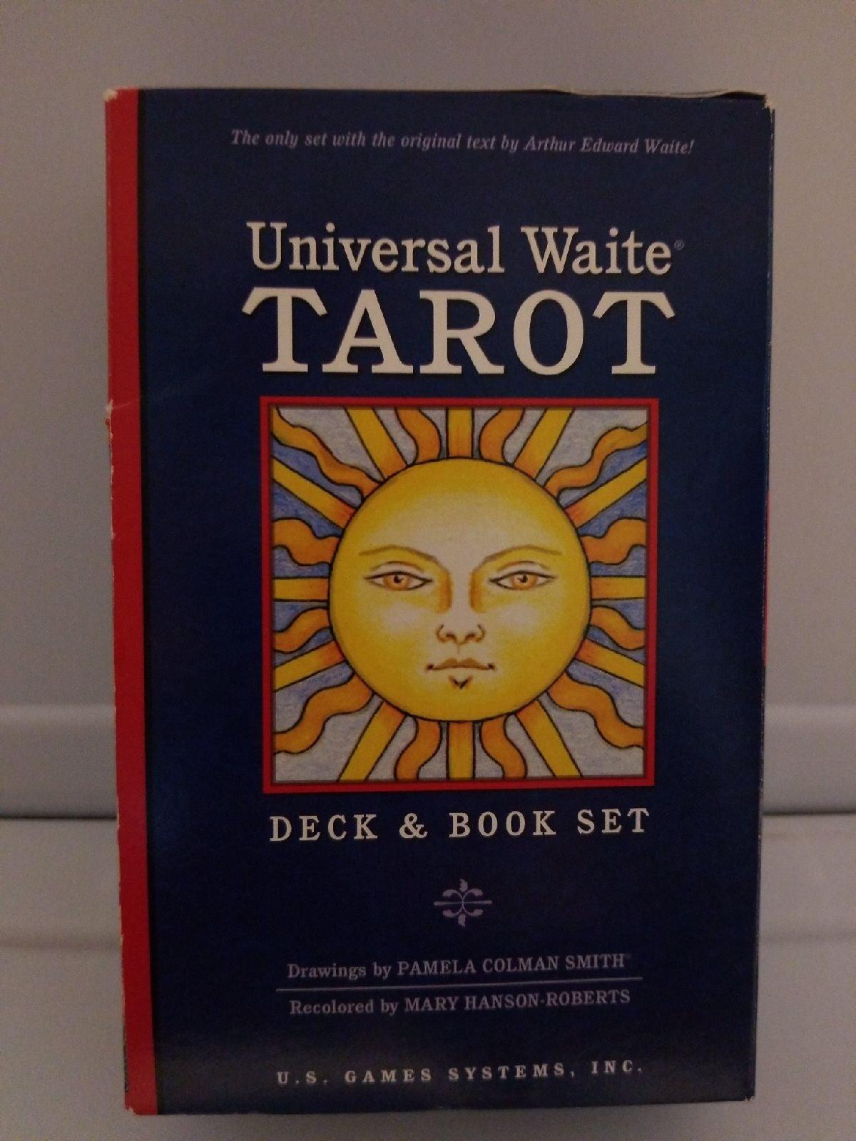 Universal Waite Tarot Deck & Book Set