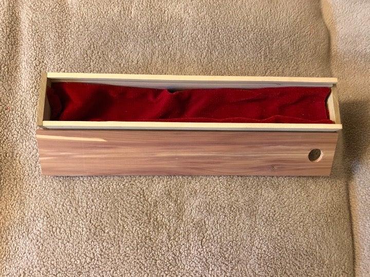 Magic Wand Display Storage Box Wooden