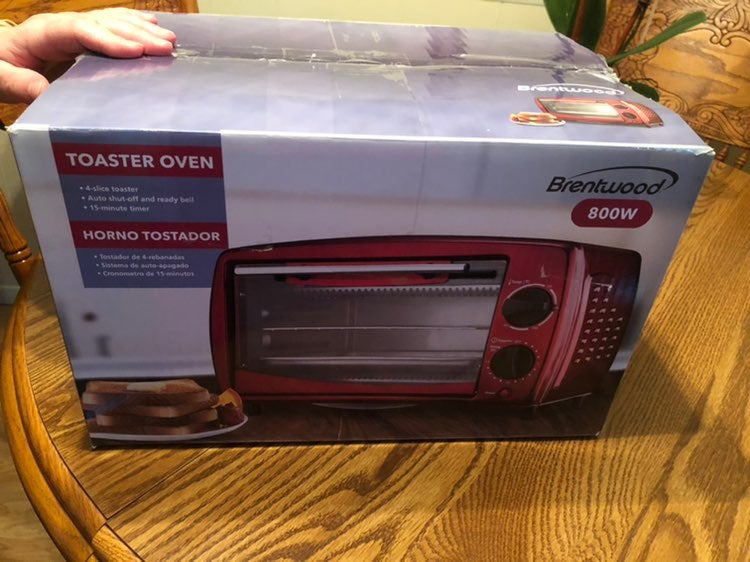 Brentwood toaster oven 800w