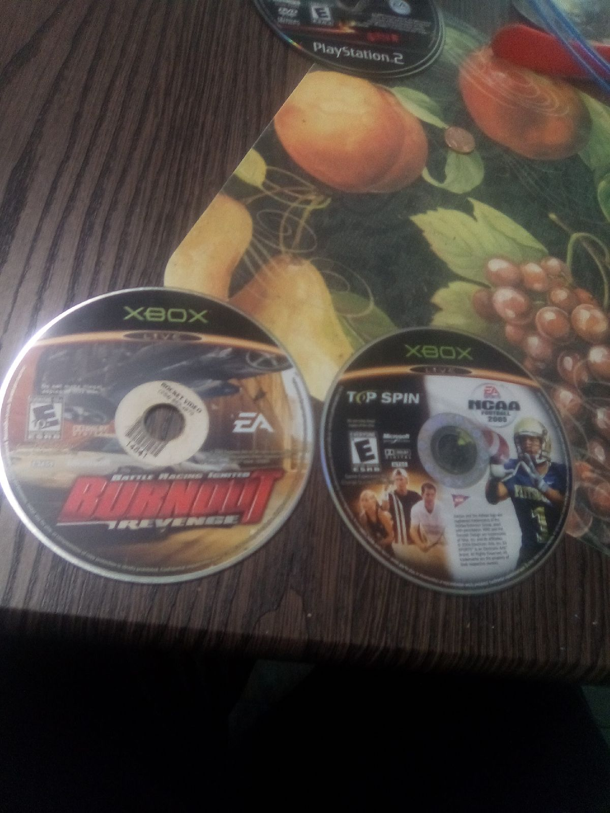 3 Original Xbox Games Disk Only!