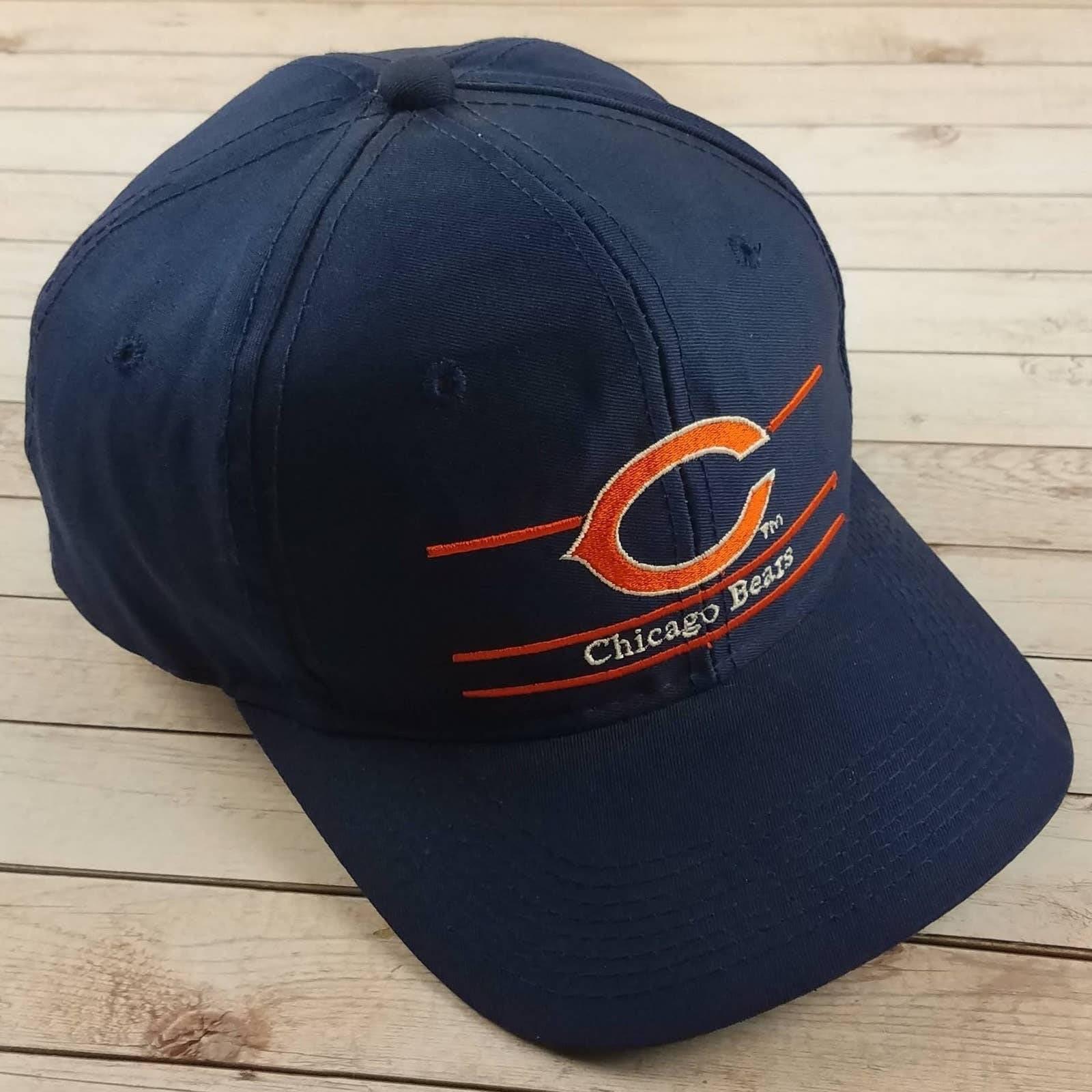 VTG 90s ChI Bears Split Bar Snapback Hat