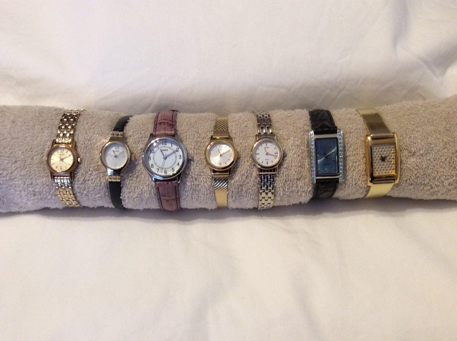 Women's watches: Seiko, Timex & Avon