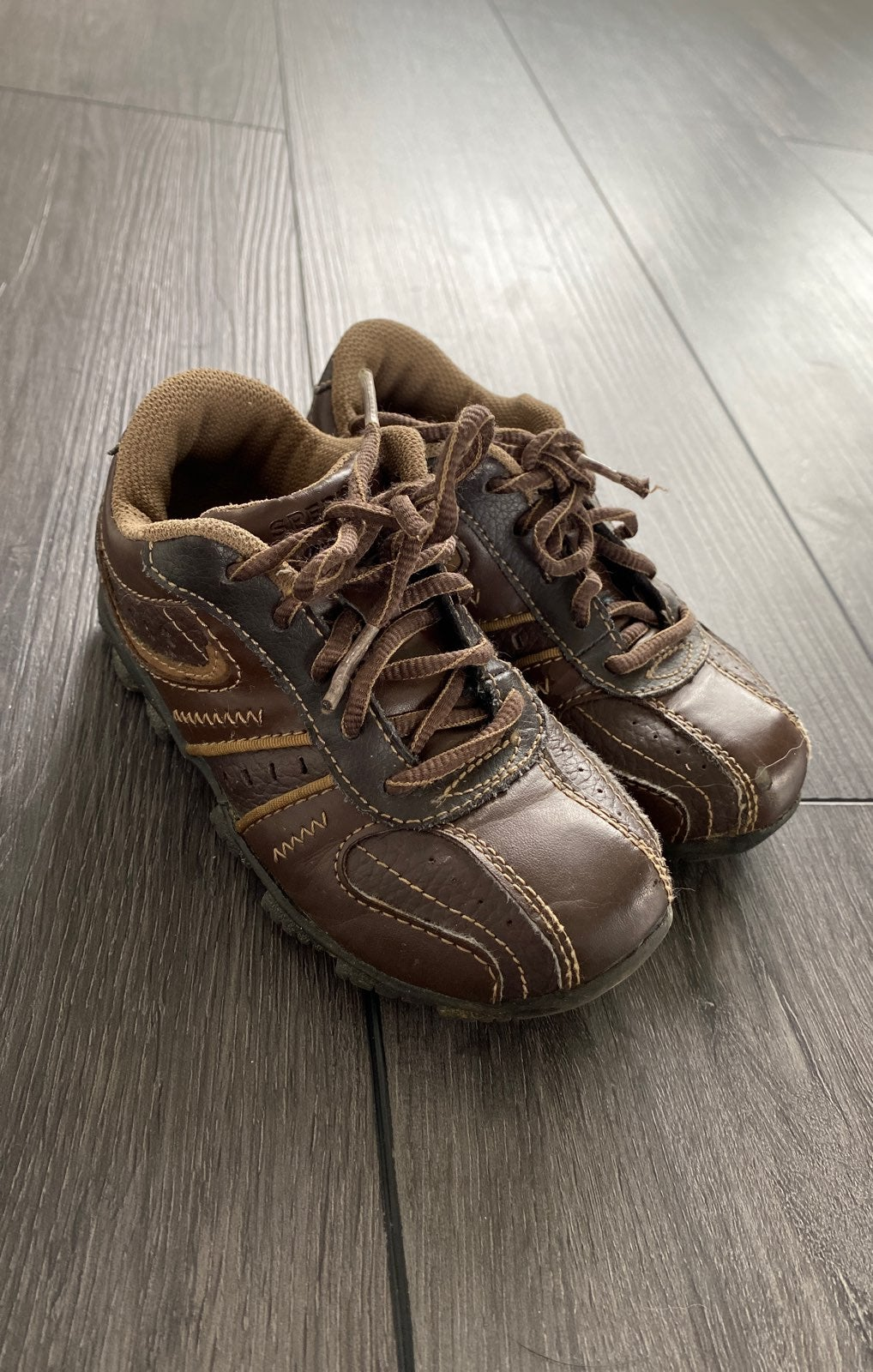 Brown Sperry Clipper LC Toddler 9.5W