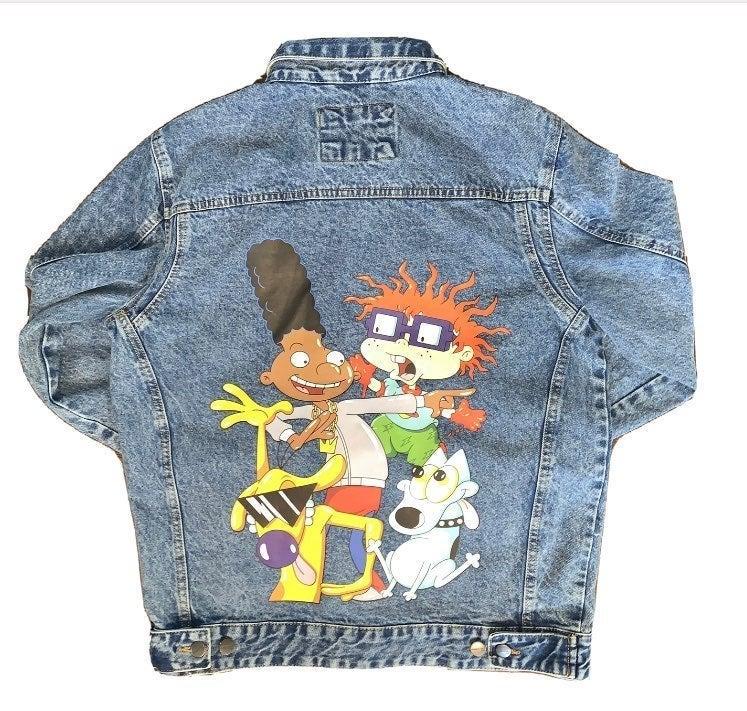 Nickelodeon Members Only Denim Jacket