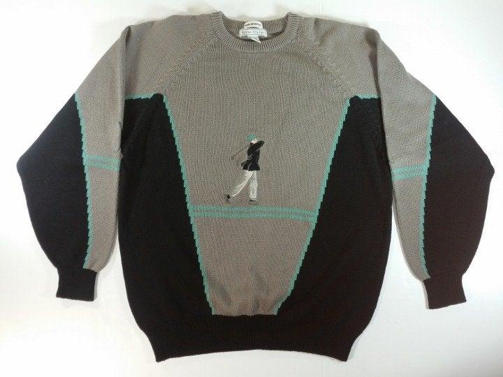 Izod Club Golf Mens Sweater Cotton XL