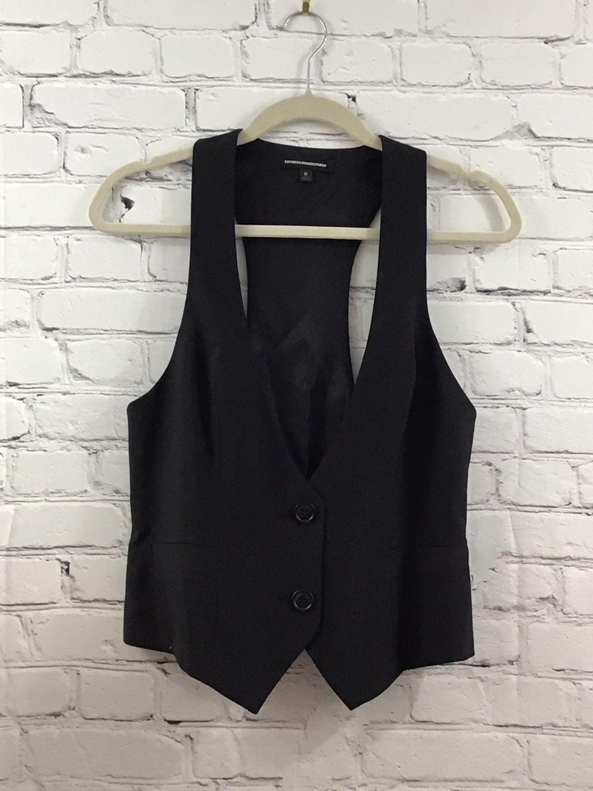 express womans black  Vest