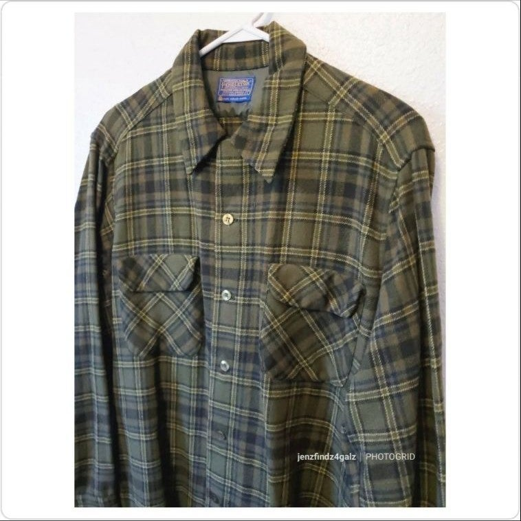 Vintage Pendleton 60's Board Shirt Lrg