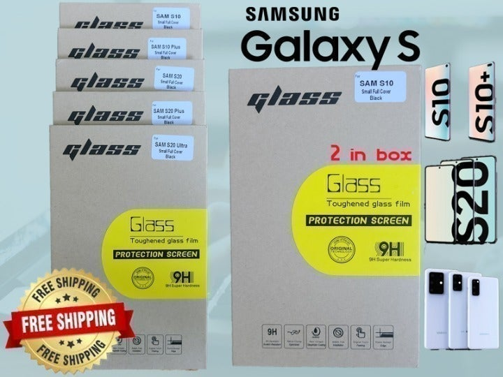 Glass Screen Protector Samsung S10,+S20+