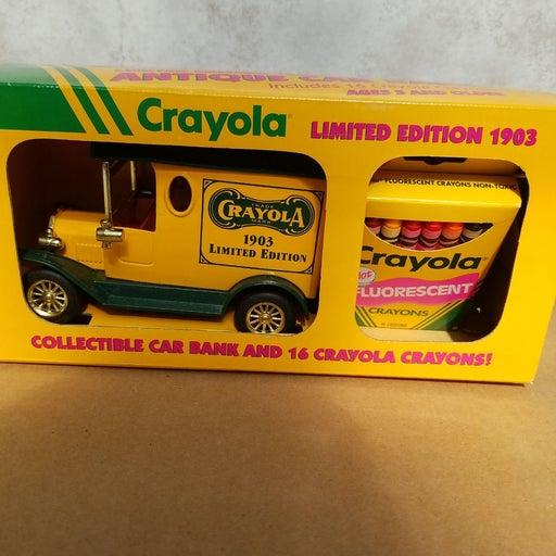 1993 1:25 Crayola 1903 Antique Car Bank