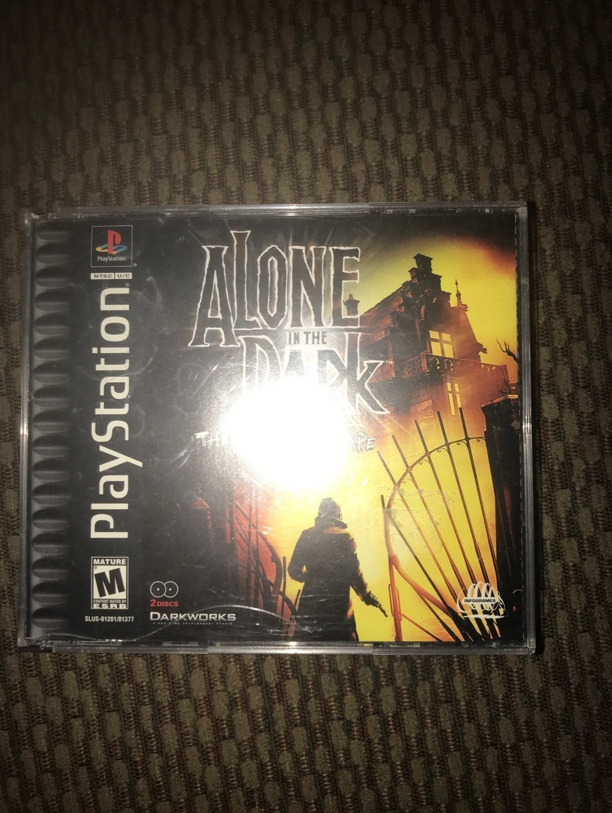 PS1 Alone in ths Dark The New Nightmare