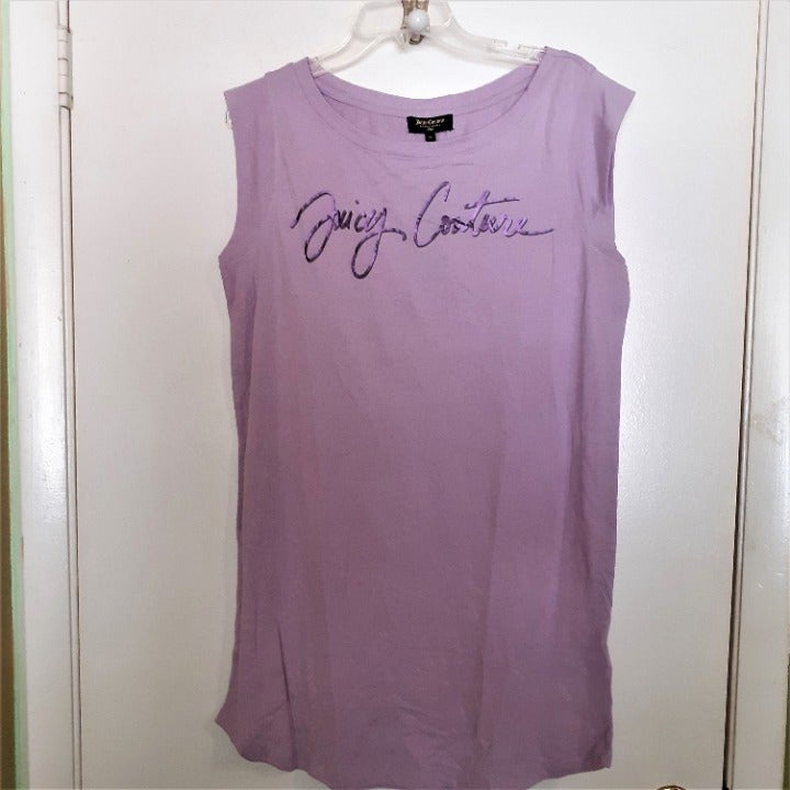 Juicy Couture orchid bouquet sleepshirt