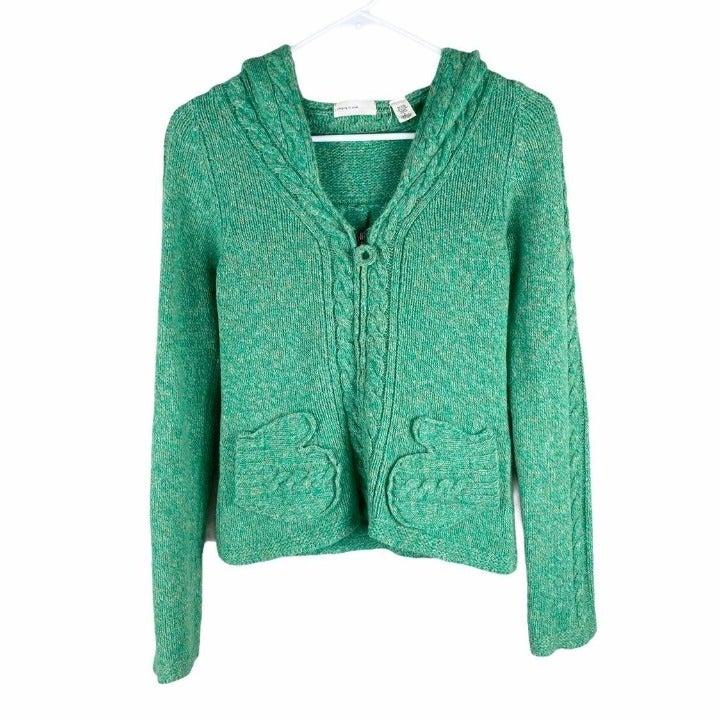 Anthropologie wool mitten sweater small