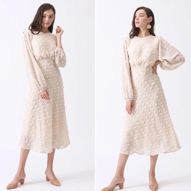 NWT Chicwish cotton candy maxi dress