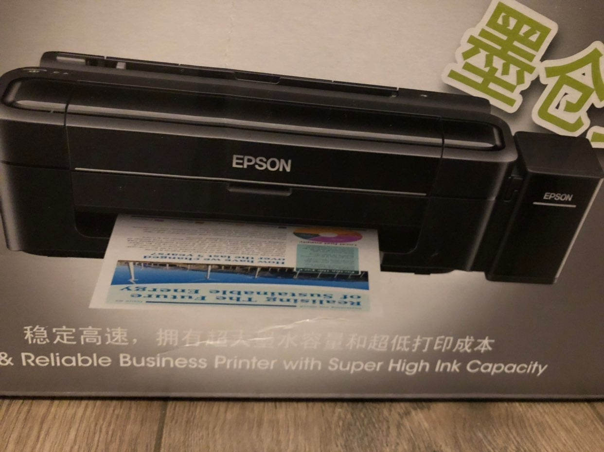 Epson L310 Sublimination Printer & Paper