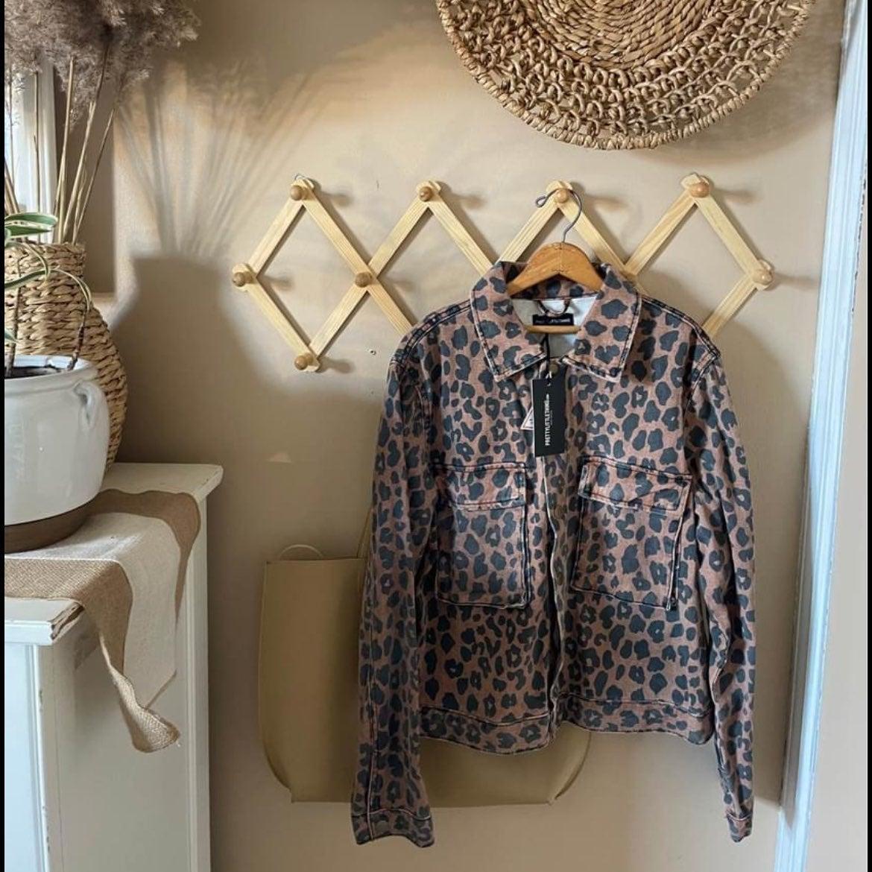 NWT PrettyLittleThing Cheetah Jacket