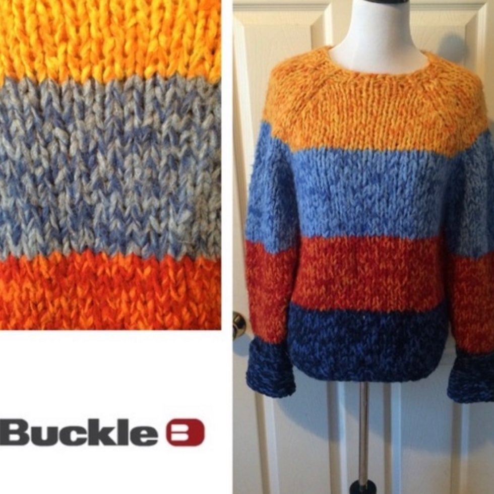 NEW Buckle's Multi Color Sweater